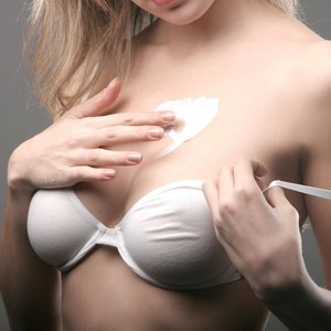 stretch mark cream on breasts